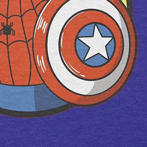 TEXLAB - Spider Boy - Herren Langarm T-Shirt Marine