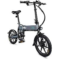 """AivaToba Pliable pour vélo électrique, 16"""" pneus [ 36V 7.8Ah ] Batterie Lithium-ION Grande Capacité [ Jusqu'à 25 km/h ] Moteur sans Brosse Vélo électrique Hybride"""