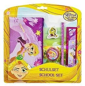Undercover ravt6471Set Escolar, Disney Rapunzel, 5Piezas