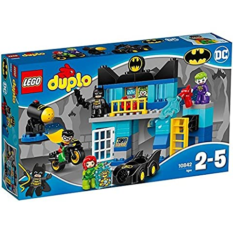 LEGO - 10842 - DUPLO - Jeu de Construction - Le Défi de la Batcave