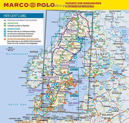 MARCO POLO Reiseführer Schweden: Reisen mit Insider-Tipps. Inklusive kostenloser Touren-App & Update-Service: Alle Infos bei Amazon