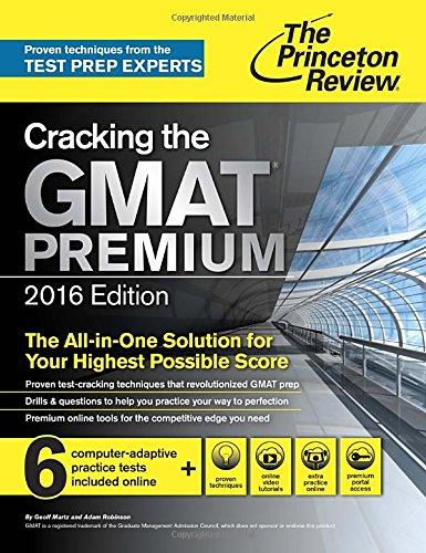 Cracking The GMAT Premium. 2016 (Princetown Review)