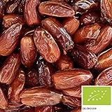 Datteri Deglet Nour bio 5kg, gustosi datteri essicati, denocciolati, senza solfiti e senza aggiunta di zuccheri, da coltivazione biologica controllata