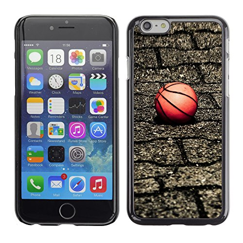 Graphic4You Basketball Korbball Spiel Sport Thema Design Harte Hülle Case Tasche Schutzhülle für Apple iPhone 6 / 6S Design #2