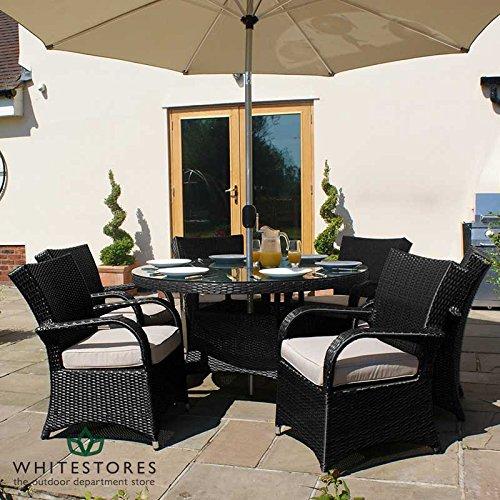Maze-Rattan-Outdoor-Garden-Furniture-Texas-6-Seat-135m-Round-Table-Rattan-Dining-Set