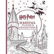 Harry Potter Magical Places & Characters Colouring Book