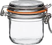 Le Parfait Super Terrines - Wide Mouth French Glass Preserving Jars with Straight Bodies, Glass Lids and Natural Rubber Seals