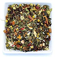 Peach Mint Julep - Chamomile Spearmint Peach - Herbal Loose Tea - Caffeine Free - Calming & Relaxing - Hor & Iced Tea - Tealyra (4oz / 110g)