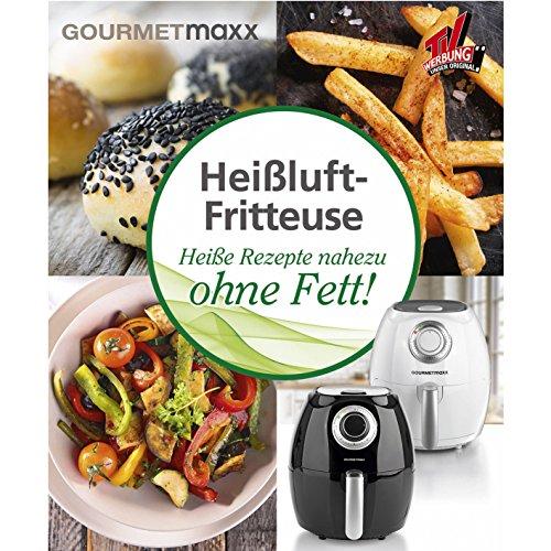 GOURMETmaxx 00181 Rezeptbuch für Heißluft Fritteuse, Leckere Rezeptideen