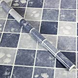 Küche Ölbeständig selbstklebende Aufkleber Folie Fliesen Fliesen wasserdicht Rauch Herd Schrank Glas Aufkleber ist 3 m lang und 0,6 m breit (1,8 M*L), P