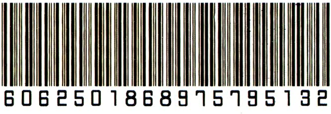 Smilendeal_T1738 Removeable Temp Body Tattoo - Barcode Tattoo