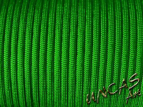 Original bracelet en paracorde 550 tYPE 3–30 m corde couleur : vert