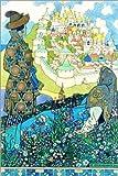 Posterlounge Acrylglasbild 120 x 180 cm: Das Märchen des Zaren Saltan von Ivan Jakovlevich Bilibin/ARTOTHEK - Wandbild, Acryl Glasbild, Druck auf Acryl Glas Bild