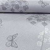 Arthouse Kätzchen Blumen Muster Tapete Schmetterling