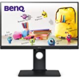 "BenQ GW2480T 24"" 1080p IPS Eye-Care Monitor, Height Adjustment, HDMI, Brightness Intelligence, Low Blue Light, Flicker-Free,"