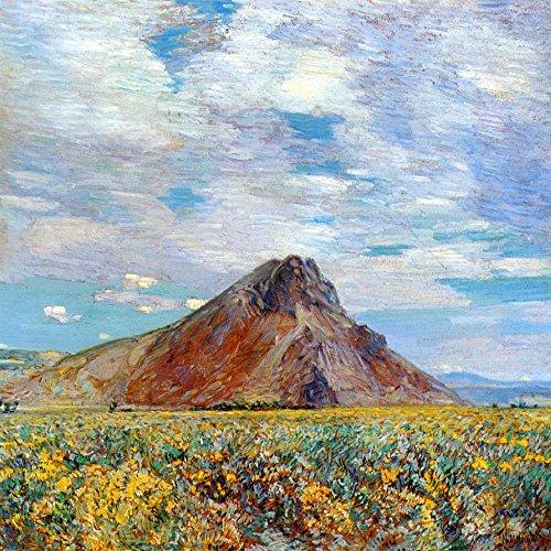 Das Museum Outlet-Sand Federn Butte, 1904, gespannte Leinwand Galerie verpackt. 29,7x 41,9cm