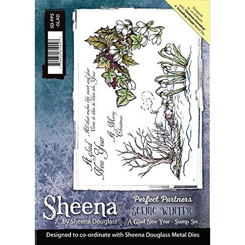 sheena-douglass-rubber-stamp-perfect-partners-scenic-winter-a-glad-new-year