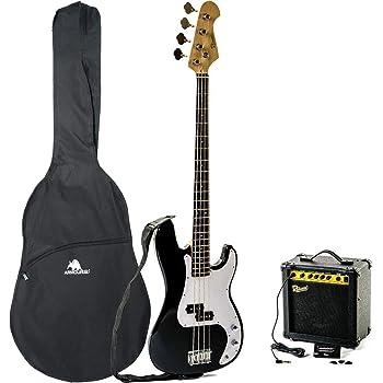 wholesale dealer bae7f 56442 Redwood RB5 Electric Bass Guitar Pack Redwood B15 Bass Amp Beginners Pack -  Black