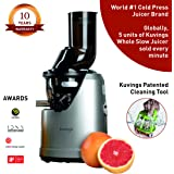 Kuvings B1700 Professional Cold Press Whole Slow Juicer, Powerful 240 Watts Motor, Patented JMCS Technology for…