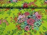 Rico Design 0,5m Dekostoff Flower Power - Artikel 16225 -