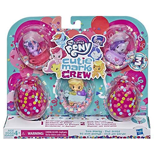 My little Pony - MLP Cutie Mark Crew Konfetti Überraschung Pack mit 5 festlichen Toastern, E3897ES0,