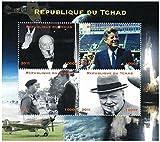Sellos Presidente de los EE.UU. para coleccionistas -2 Sellos nuevos del presidente Kennedy y Winston Churchill - Desmontado y desquiciado - Stampbank - amazon.es