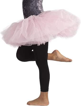 CALZITALY Leggings Danza Bimba | Pantamaglia Dance | Leggings Ballet | Nero, Rosa | 4/6, 8/10, 12/14 Anni | 60 Den | Calzeteria Italiana |