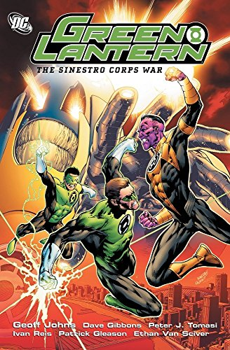 Green Lantern Sinestro Corps War TP por Peter J. Tomasi