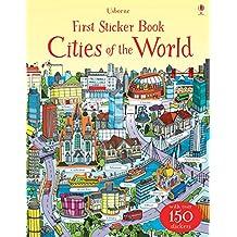 First Sticker Book Cities of the World (First Sticker Books)