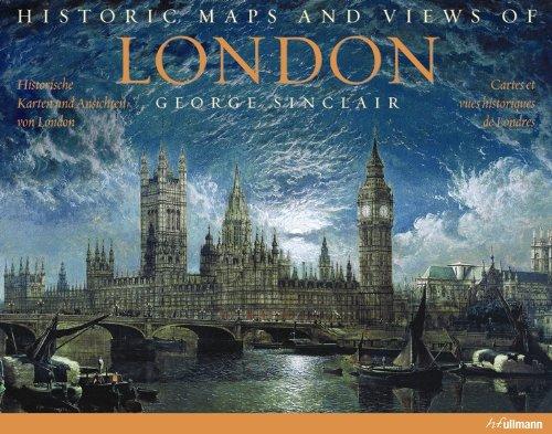Londres cartes et vues historiques par George Sinclair