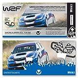 (30 x) Einladungskarten Geburtstag Auto Rennfahrer Rallye Ticket Einladungen