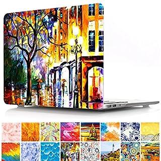 MacBook Air 33cm Fall, papyhall Dream Catcher Design Kunststoff HardCase Schutzhülle gummierte Beschichtete Hard Cover Fall für Apple MacBook Air 33cm Modell: A1369/A1466 4 Plant 15.4 inches