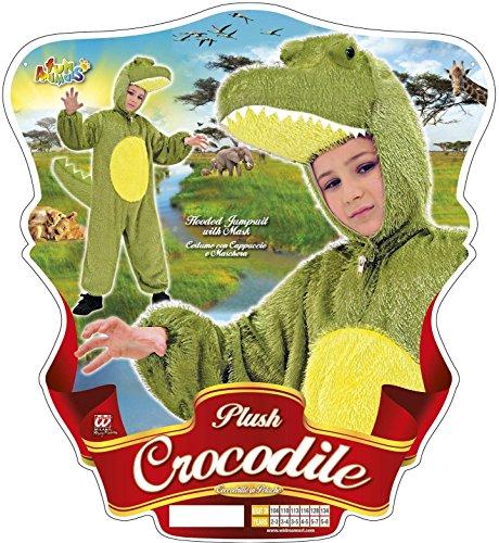Imagen de widman  disfraz de cocodrilo infantil, talla 5  8 años 9769t  alternativa
