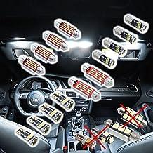 Set de iluminación LED 4014SMD Interior para VW Transporter Bus T5T6Caravelle KR 25unidades Xenon blanco Canbus, no error Aviso