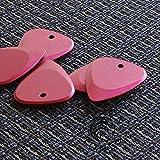 Fusion Tones Lot de 4 médiators Rouge