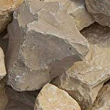 zierkiesundsplitt Yellow Sun Bruchsteine Gabionensteine 1000kg Big Bag 40-60mm, 60-100mm (60-100mm)