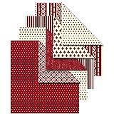 Vivi Gade Design Origamipapier, Sortiment, 10x10 cm, Copenhagen, 50 sort. Blatt