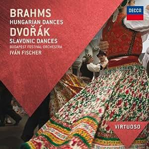 Brahms: Hungarian Dances / Dvorak: Slavonic Dances (Virtuoso series)