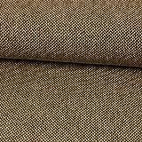 Stoffe Werning Wollstoff Tweed braun Winterstoffe