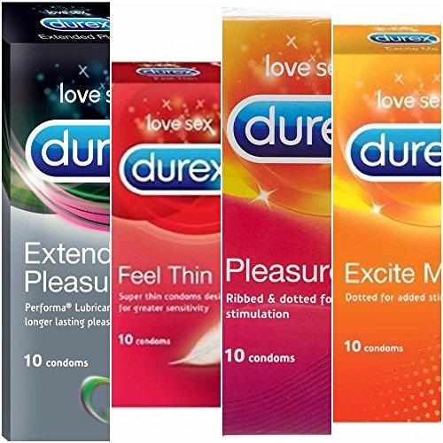Durex-Condoms-10s-Assorted-Combo-pack-of-4