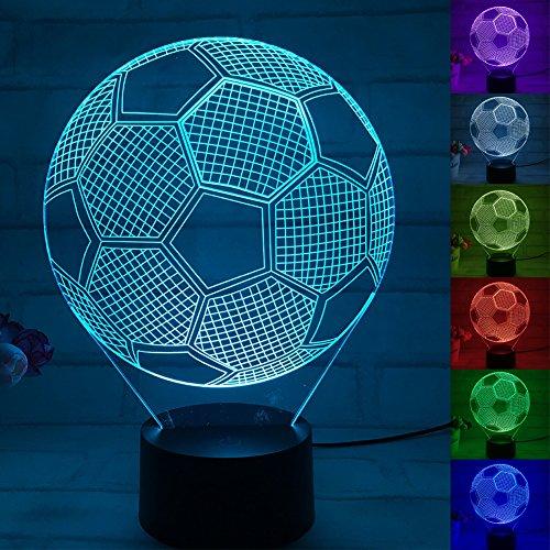 ischlampe, leuchtet in 7 Farben (Einzigartige Fußball-bälle)