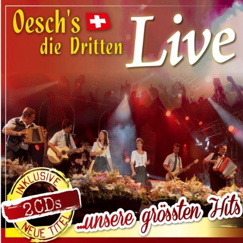 Live; unsere größten Hits; incl. neuer Titel; 30 Titel; incl. Ku Ku Jodel