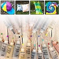 Kits Tie Dye, Kits De Tinte DIY para Adultos Y Niños De 18 Colores, Agentes De Tinte para Ropa Hechos A Mano, Kits Tie-Dye para Niños