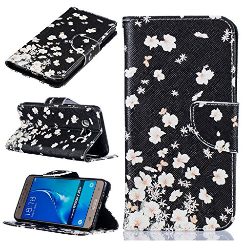 KIO Galaxy S5 Cover Custodia in pelle a libro modello PU pelle Wallet Case | embedded Flip Magnetic cinturino da chiudere Lock | Bookstyle Custodia Flip Cover Custodia in pelle Custodia per Galaxy S5  P-2