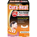 Cura Heat Neck & Shoulder Pain - 2-Pack