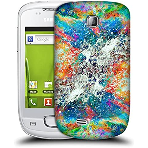 Ufficiale Caleb Troy Fender Bender Vivido Cover Retro Rigida per Samsung Galaxy Mini S5570 - Licenza Ufficiale Mini Fender