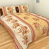 BSB Trendz Polycotton Double Bedsheet wi...
