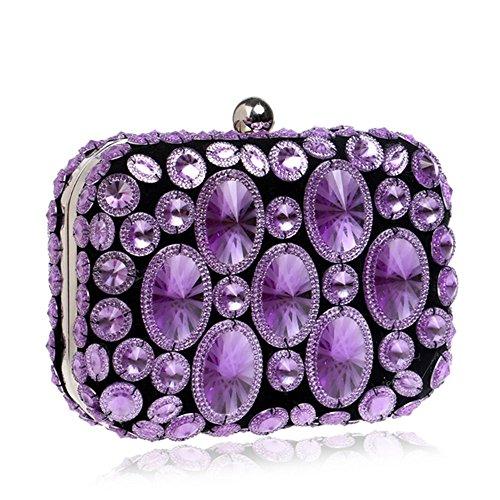 Eysee - Borsa a tracolla donna Purple