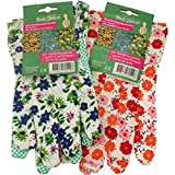 HEKU 0298 Gartenhandschuhe Damen Textil mit Noppen
