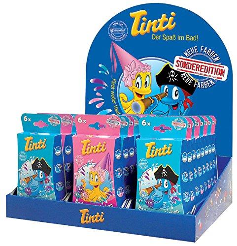 Tinti Badewasserfarben 6 Stk Sonderedition Pirat oder Prinzessin